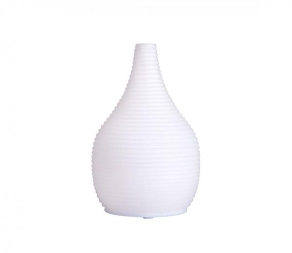aroma difuzér SNOWY - SNĚŽNÝ, osvěžovač a zvlhčovač vzduchu, mléčné sklo, USB