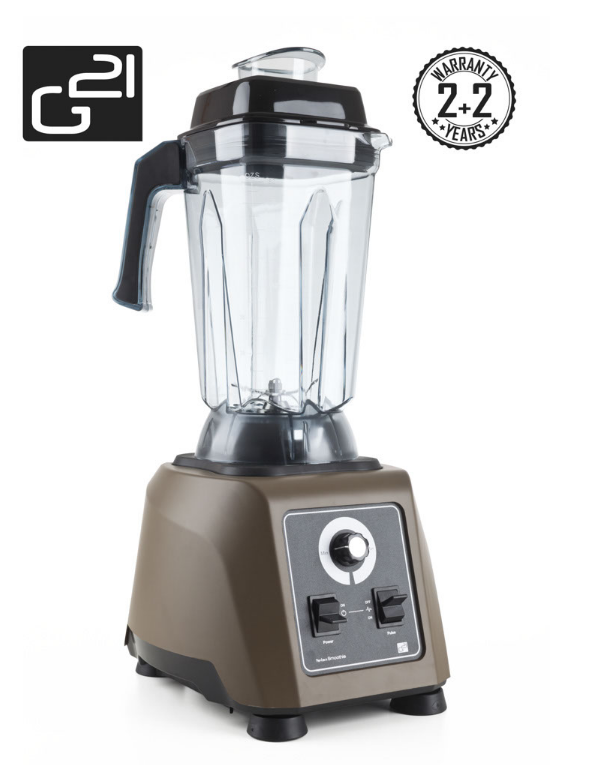 Blender G21 Perfect smoothie Dark Brown